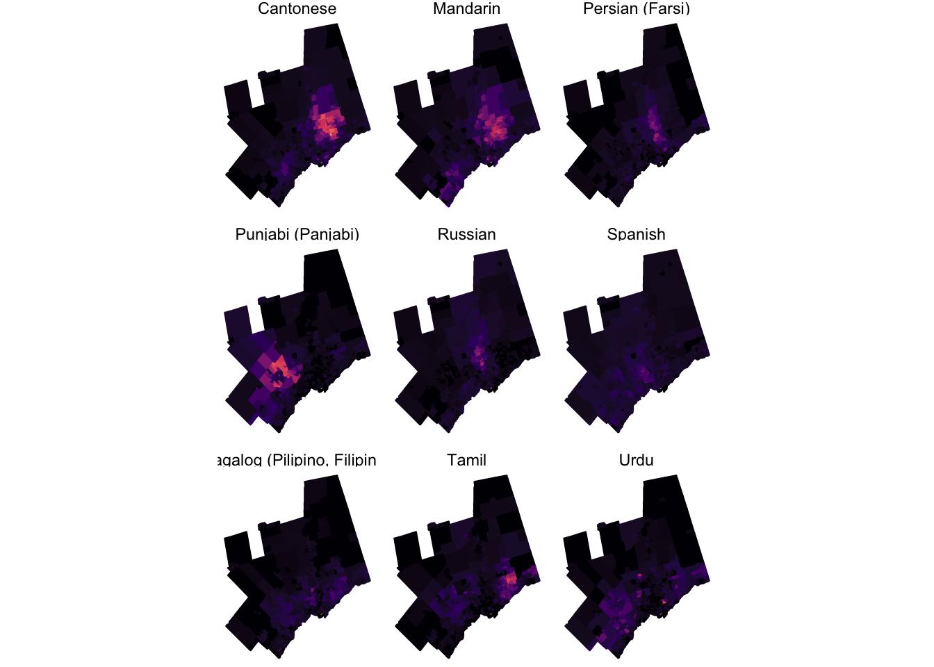 Small multiples with maps · Dmitry Shkolnik
